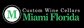 Custom Wine Cellars Miami Florida Logo