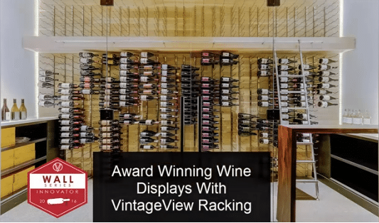 Click here to view more contemporary wine cellars with VintageView metal wine racks.