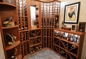 Click here to learn more about this custom wine cellar design Miami.