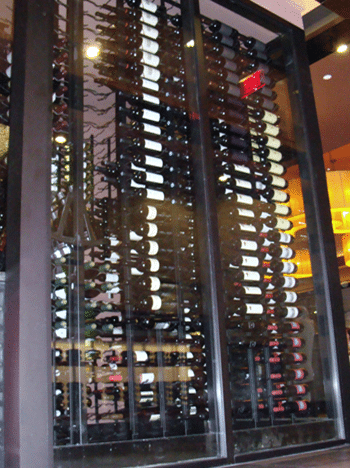 Click here to learn more about contemporary wine racks and VintageView metal wine racks.