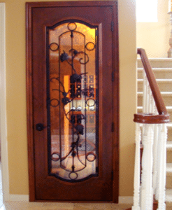Check out another project with a stunning custom wine cellar door. Click here!