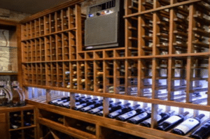 An Efficient Wine Cellar Cooling Unit Installed by HVAC Specialists in Miami