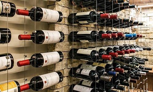 Miami Cable Wine Systems wine racks Custom Cellar Designs