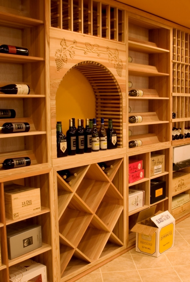 Custom Wine Racks Manufactured by Miami Designers and Installers