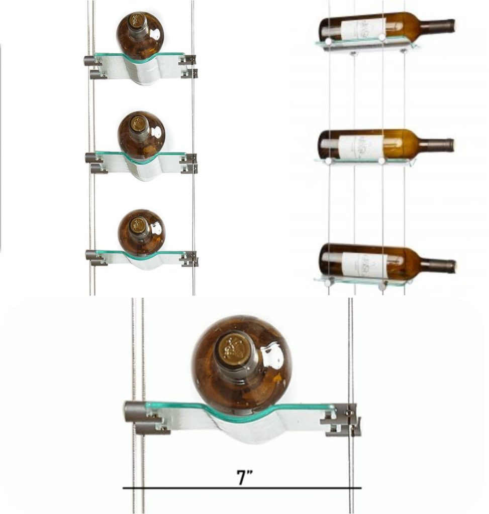 VintageView Cable Wine System Allows You to Display Your Collection in a Modern Way