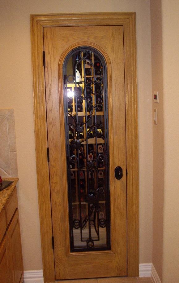 Glass Wine Cellar Door Miami florida