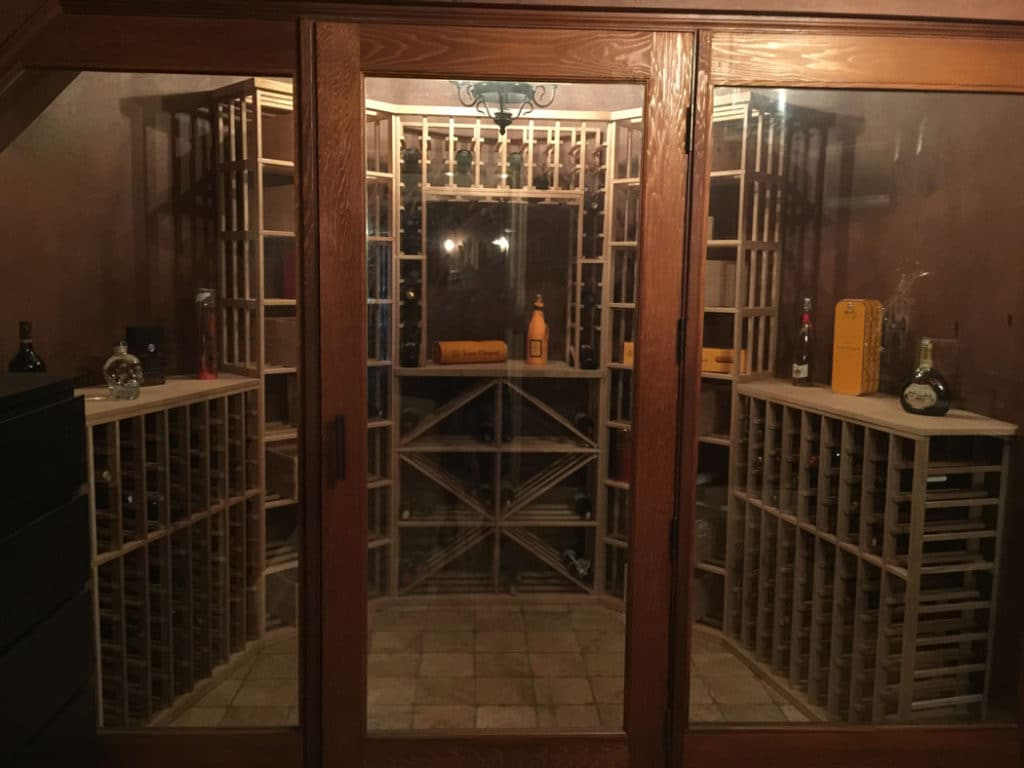 Read more about different kinds of wine racking systems here!