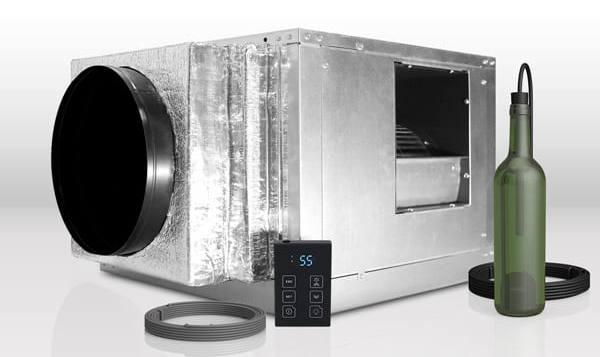 WhisperKOOL Ducted Split Quantum 9000 Wine Cellar Refrigeration Unit Miami