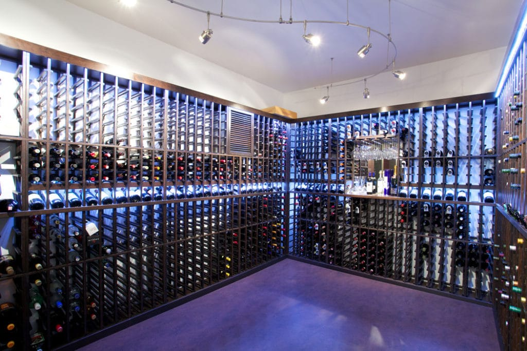 Check out more wine cellar designs here!