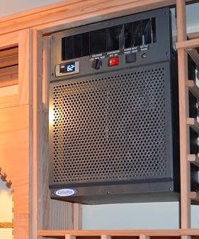 CellarPro Self-Contained Wine Cellar Cooling Unit Installed by Miami Experts