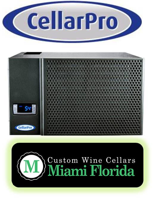 Custom Wine Cellars Miami Utilizes CellarPro Wine Cooling Units