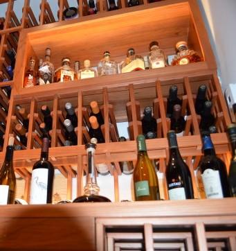 Elegant Redwood Custom Wine Racks Miami