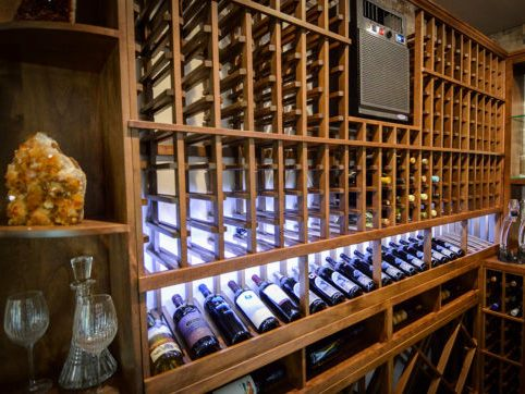 Mahogany Custom Wine Racks