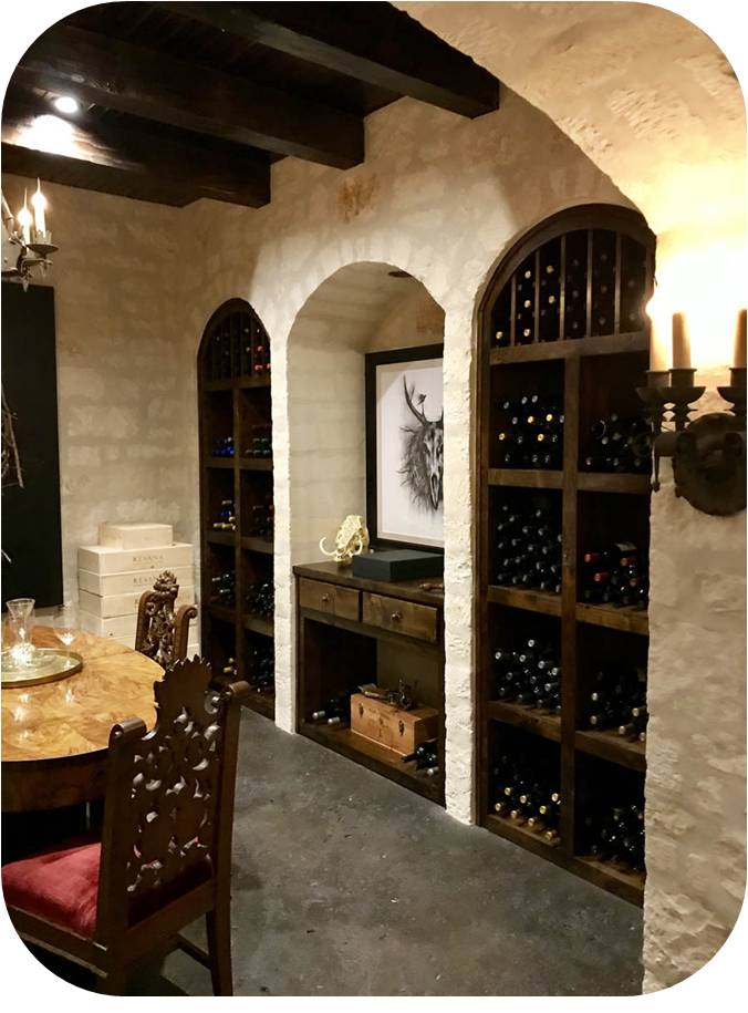 Miami Home Wine Cellar Equipped with a CellarPro Refrigeration System