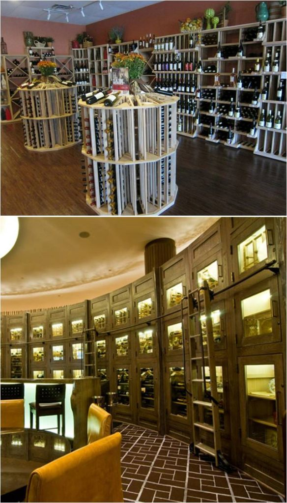 Striking Commercial Wine Cellars Built by Premier Installers in Miami