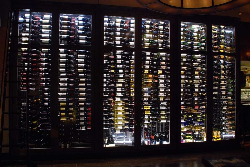 Read about glass wine cellar doors here!