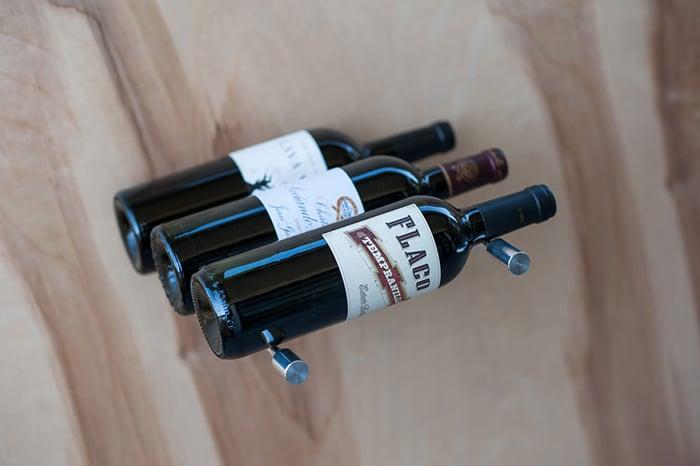3-Bottle Deep Vino Series Wine Racks by VINTAGEVIEW