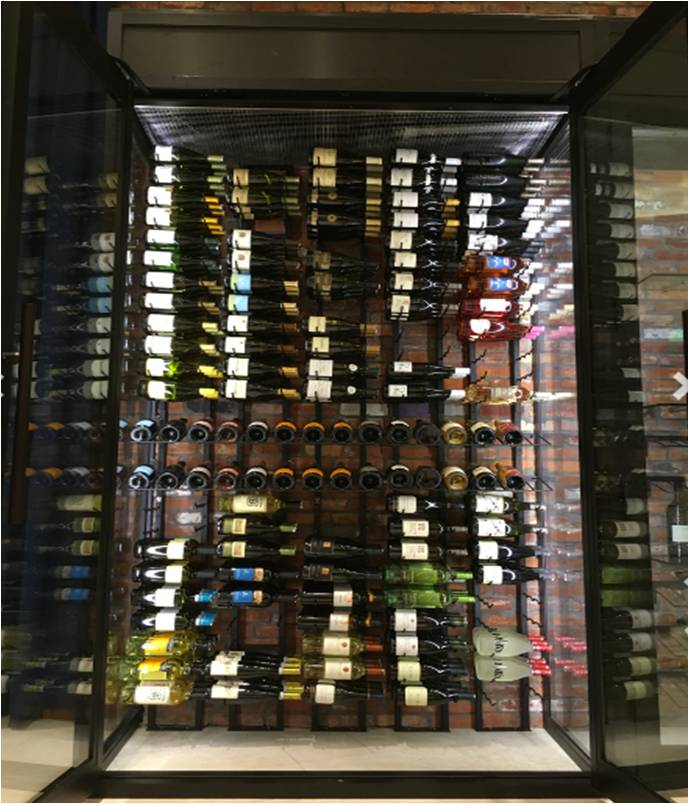 Custom Wine Cellar with VintageView Wine Racks Miami Installers
