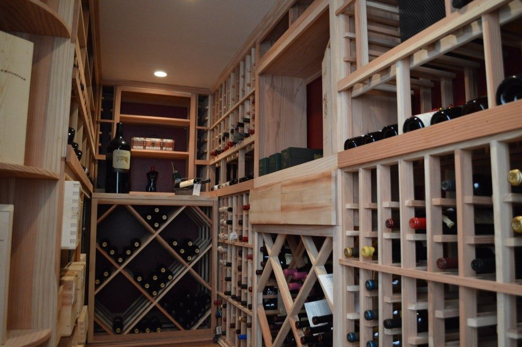 Traditional Residential Wine Cellar Design Created by Experienced Installers in Miami