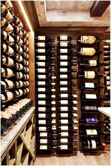 VINTAGEVIEW Floor to Ceiling Wine Racks by Residential Custom Wine Cellar Installers in Miami