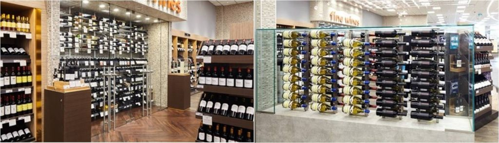 Commercial Wine Cellar Racks by Miami Experts