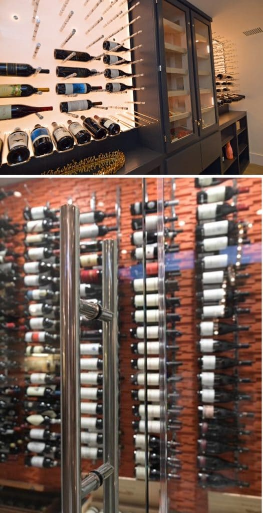 Residential and Commercial Contemporary Wine Cellars